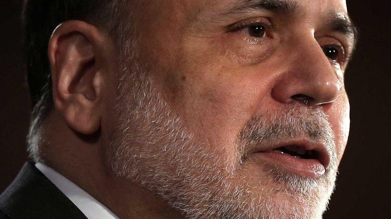 Federal Reserve Chairman Ben Bernanke jolted investors in