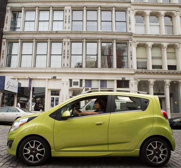 Prices for the Chevrolet Spark 2T begin at
