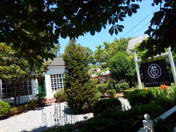 Prince of Scots boutique in Water Mill. (July