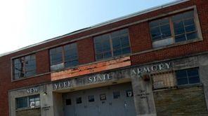 Freeport Armory in Freeport on June 1, 2013.