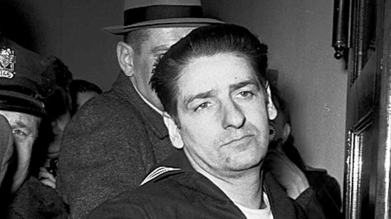 Self-confessed Boston Strangler Albert DeSalvo minutes after his