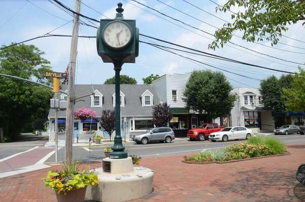 In the heart of Bayville's downtown area, a