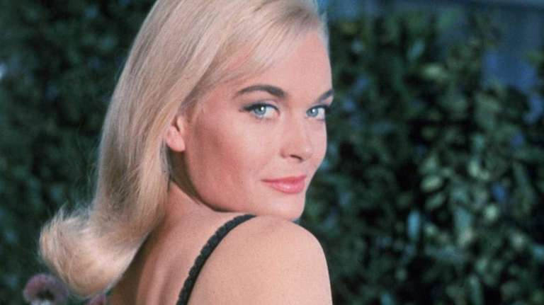 Honor Blackman is shown in the James Bond