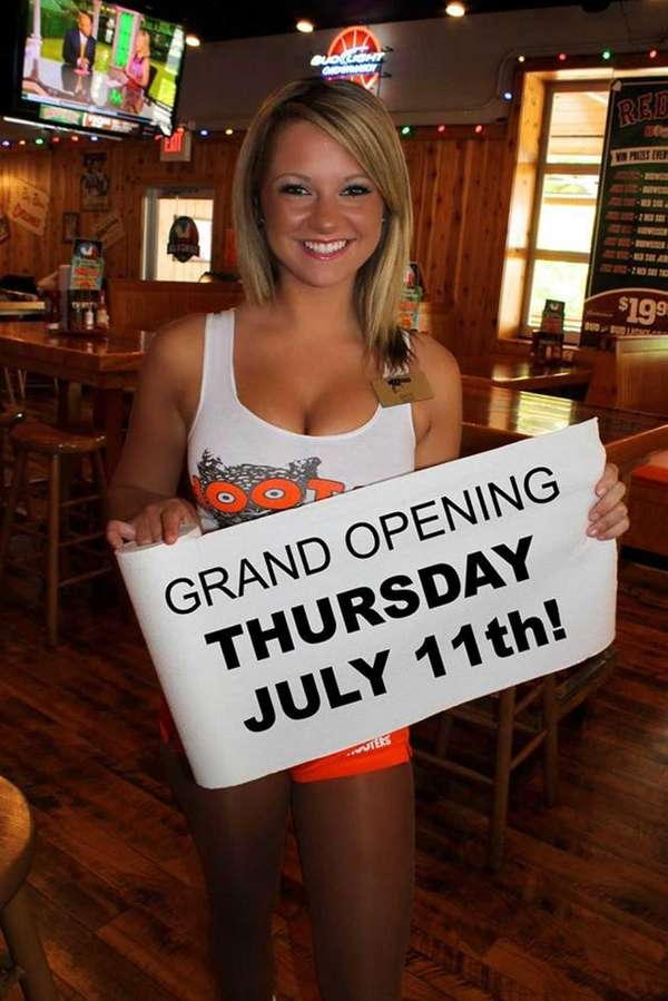 Hooters in Farmingdale is reopening on July 11,