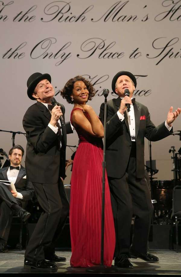 From left, Henry Stram, Anika Noni Rose and