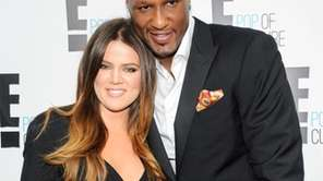 Khloe Kardashian Odom and Lamar Odom from the