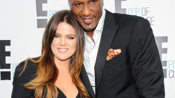 ???Khloe Kardashian Odom and Lamar Odom from the