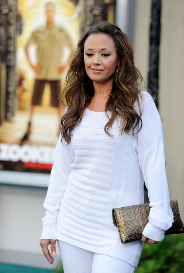 Actress Leah Remini at the premiere of the