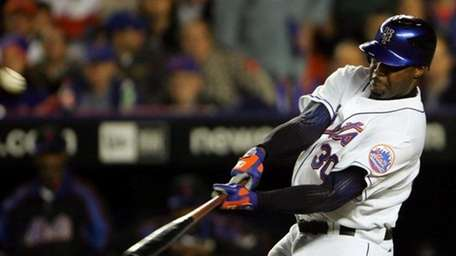 Cliff Floyd played for the Mets from 2003-06.