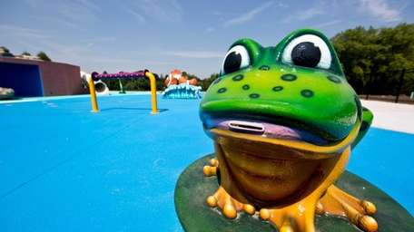 A new spray park will open at Geiger