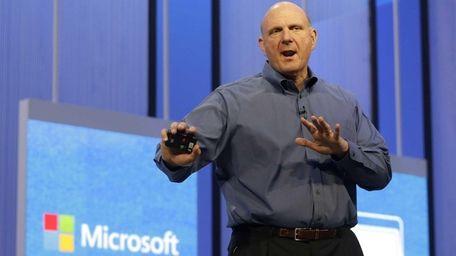Microsoft CEO Steve Ballmer, in a conference call