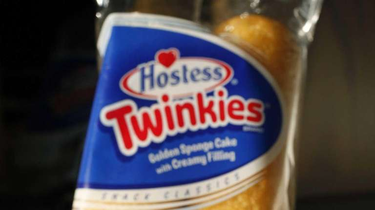 Hostess Brands LLC says the spongy yellow cakes
