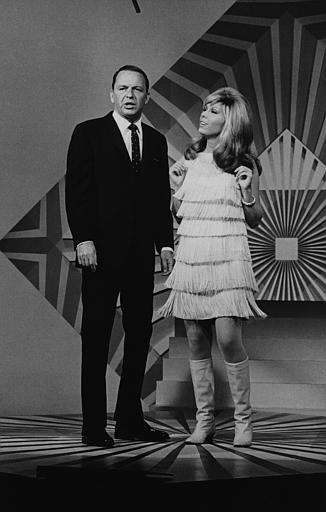 """Somethin' Stupid,"" Frank SInatra and daughter Nancy Sinatra."