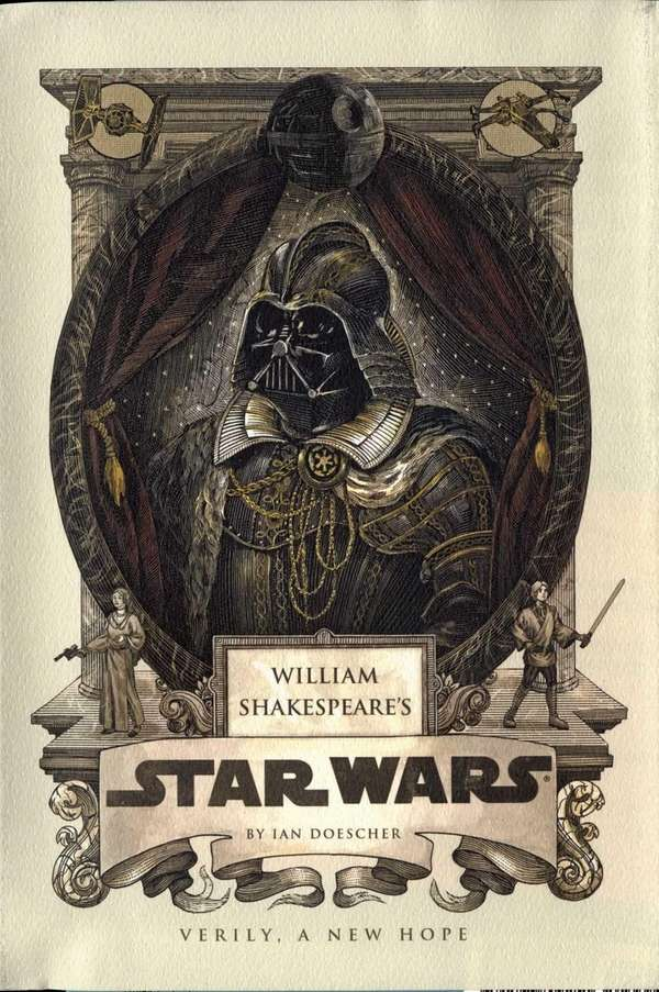 "Cover of "" William Shakespeare's Star Wars"" by"