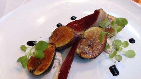 Sweet roasted figs served at Lola in Great