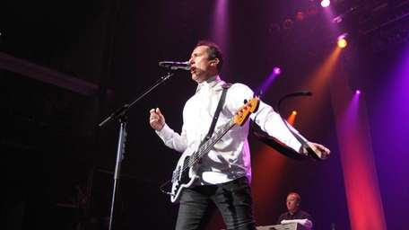 Andy McCluskey of OMD performs at Terminal 5