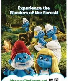 The Smurfs appear in U.S. Forest Service public