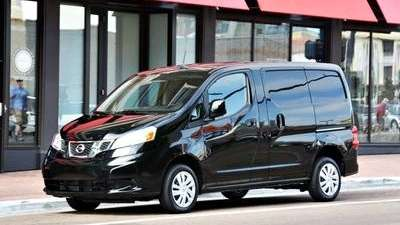 The Nissan NV200 handles well and features a
