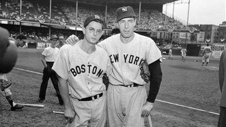 Joe DiMaggio (right) led the way for the