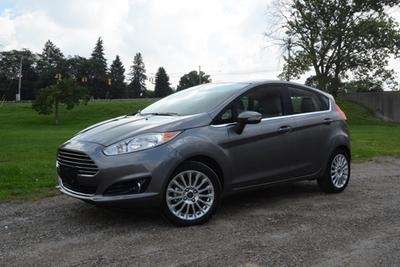 The 2014 Ford Fiesta is similar in style