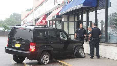 A Long Beach man struck a woman in