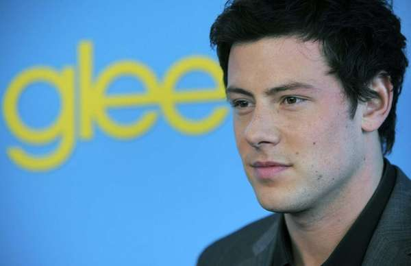 Cory Monteith arrives at the