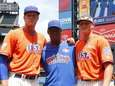 From left, Mets prospects Noah Syndergaard, Rafael Montero
