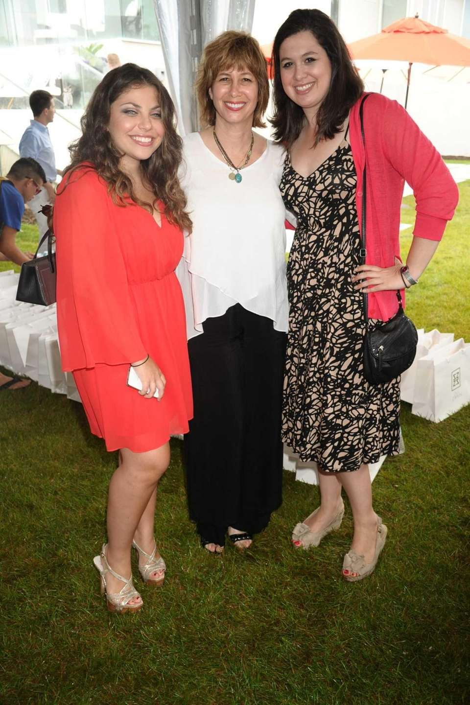 From left, Ally Zarin, Lisa Wexler and Joanna