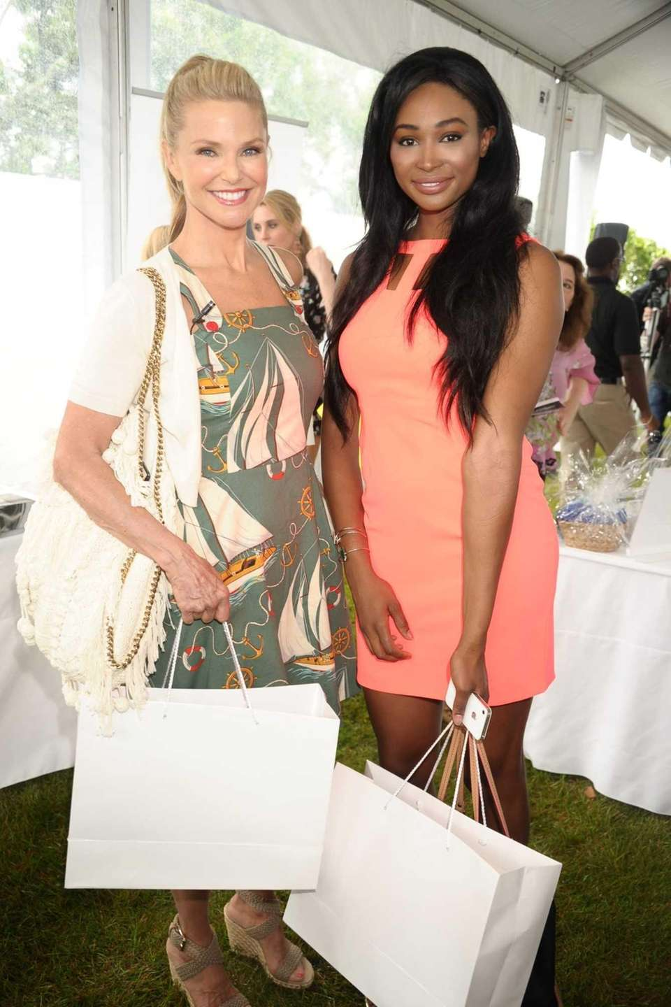 Christie Brinkley and Miss USA 2012 Nana Meriwether