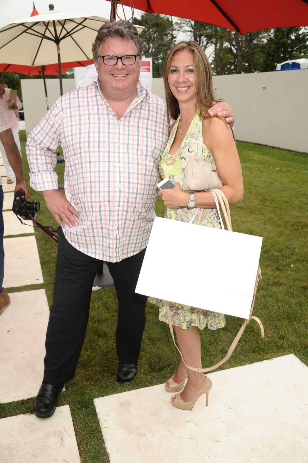 Chef David Burke and Dr. Emma attend the