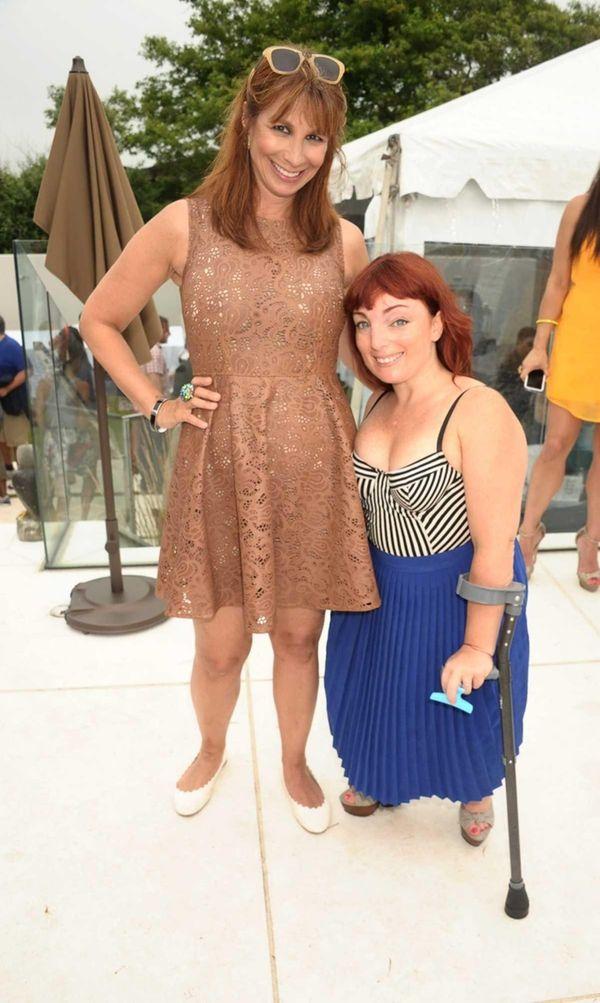 Jill Zarin and Lauren Ruotolo, Director of Entertainment