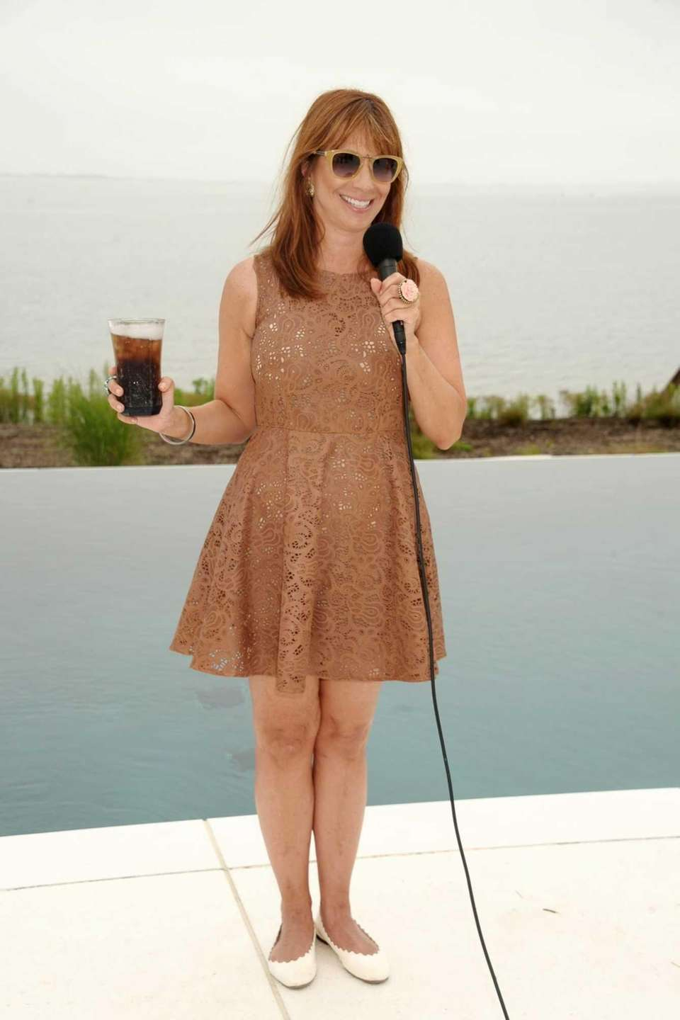Jill Zarin speaks at her Luxury Ladies Luncheon