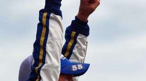 Brian Vickers, driver of the #55 Aaron's Dream