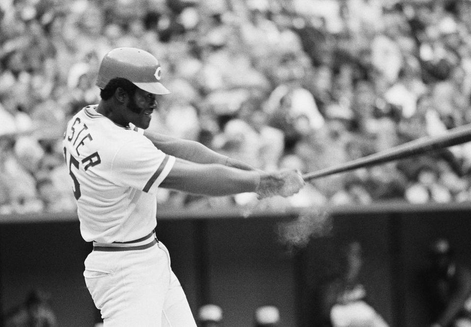 GEORGE FOSTER 1977, Cincinnati Reds 52 home runs