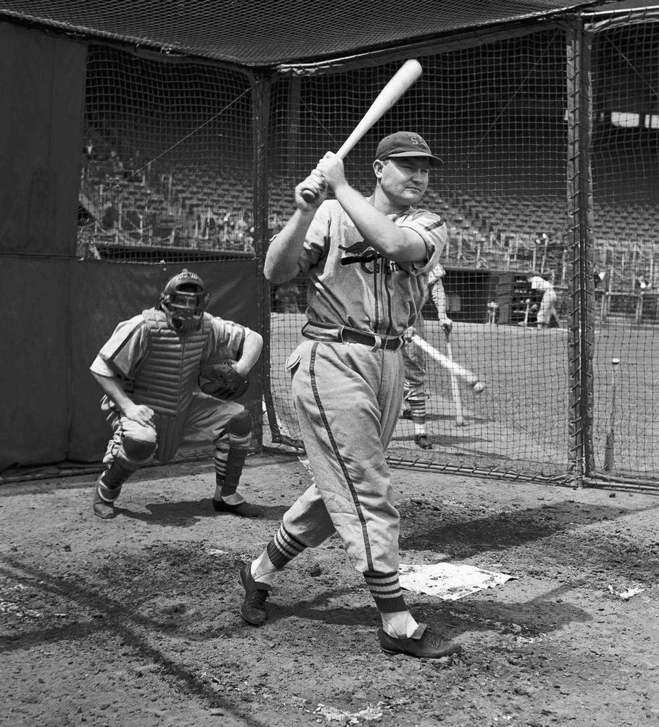 JOHNNY MIZE 1947, New York Giants 51 home