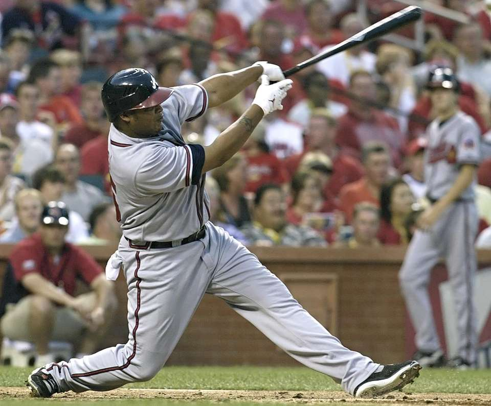 ANDRUW JONES 2005, Atlanta Braves 51 home runs