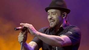 Justin Timberlake performs during the Wireless Festival at