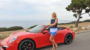 Professional tennis player Maria Sharapova poses during a