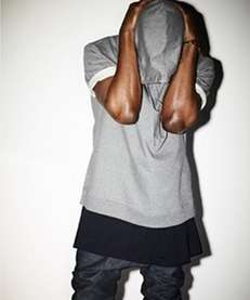 This short-sleeved sweatshirt from the Kanye West x