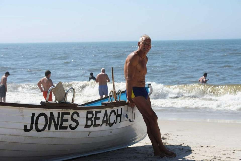 Ed Peters, 70, is ready with the rescue