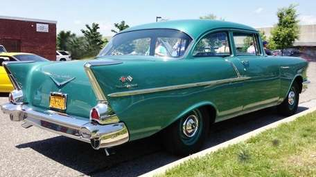 The 1957 Chevrolet 150 Business Sedan owned by