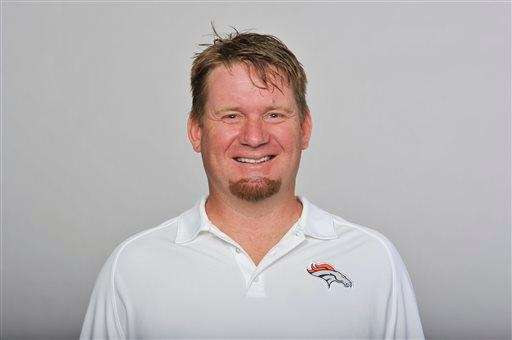Broncos director of player personnel Matt Russell, pictured,