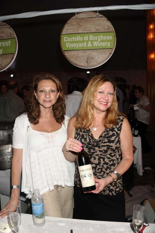 Louisa Peeker and Maria Sufrin from Borghese vineyard