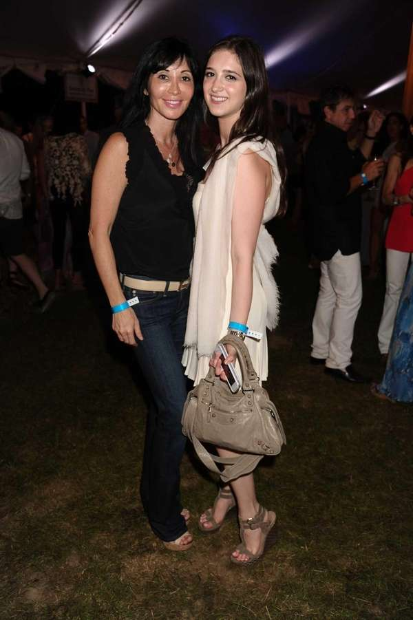 Elyse Slaine and Nicole Slaine attend the third