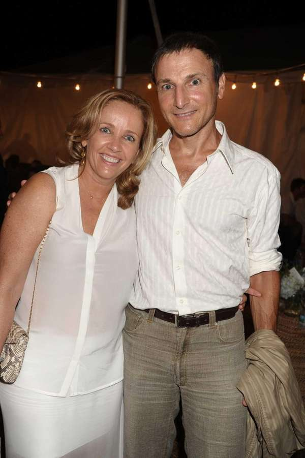 Laurie Gelman and Producer Michael Gelman attend the