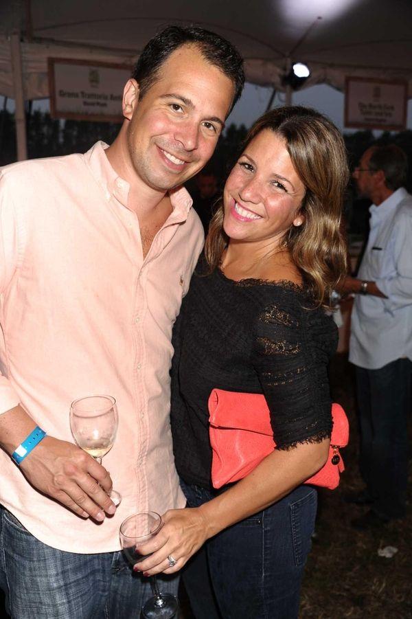 Steven Geller and Brooke Geller attend the third