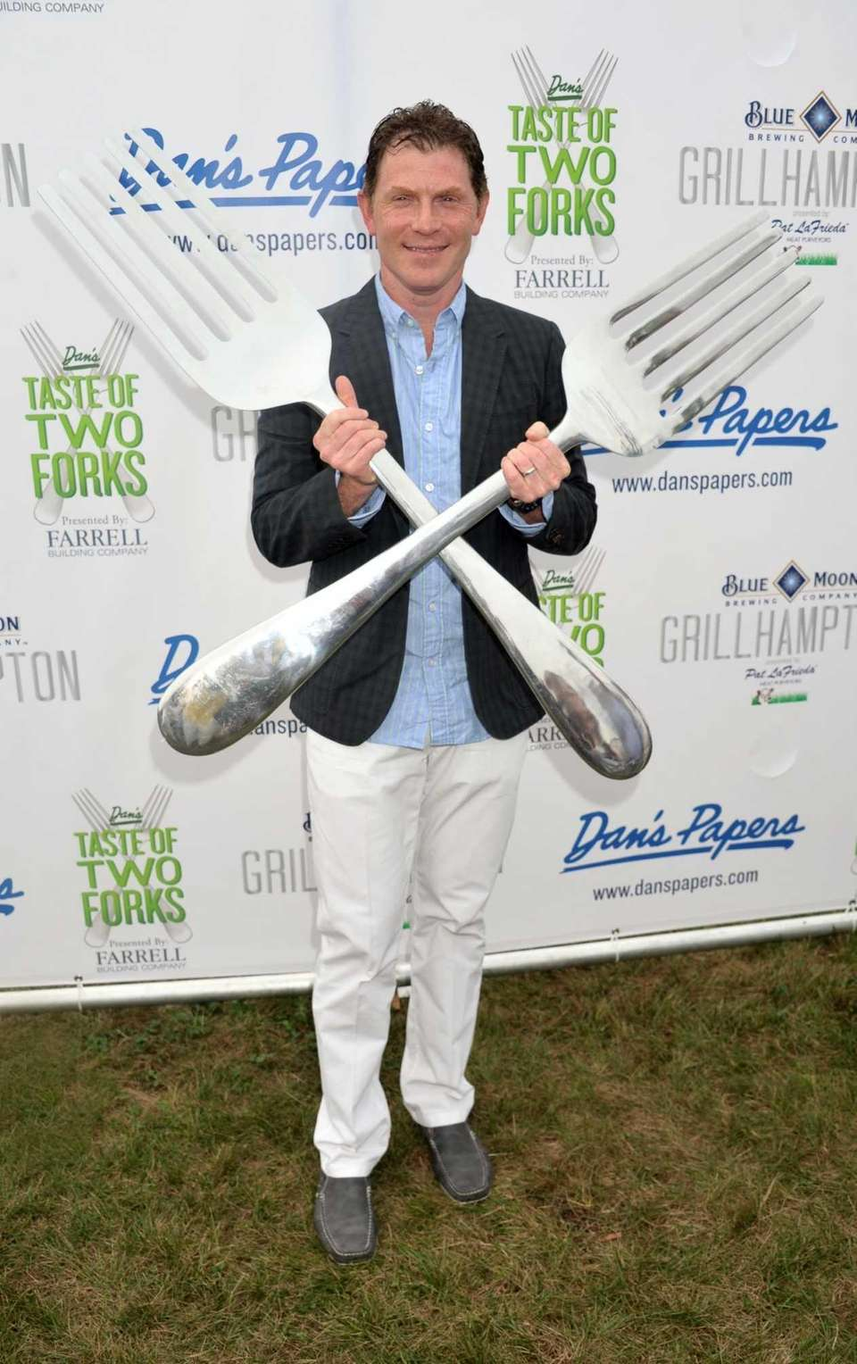 Bobby Flay hosts the third annual Dan's Taste