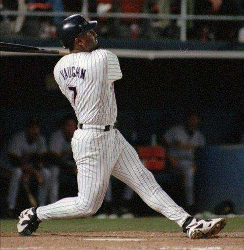 GREG VAUGHN 1998, San Diego Padres 50 home