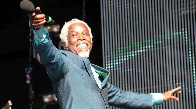 Billy Ocean performs at the 80's Rewind Festival
