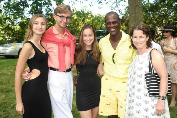 Kiera Rumbough, Cole Rumbough, Siena Rumbough, Roland Lafontant